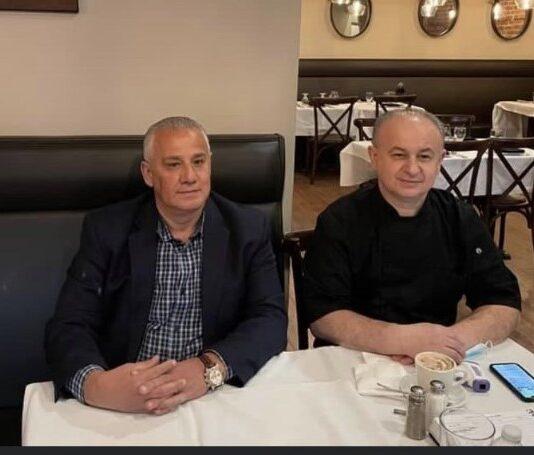 Addie & Edi Veseli at Mezza Luna Bistro Restaurant